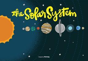 Sonnensystem Vektor