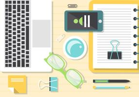Gratis Vector Graphics Desk