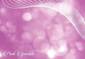 Levande Rosa Sparkle Bakgrund