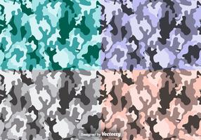 Multicam Vector Camouflage Nahtlose Muster Set