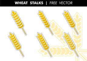 Vete Stalks Gratis Vector