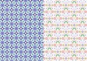 Mosaik Motivmuster vektor
