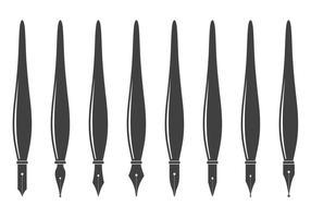 Free Pen Nibs Vektor