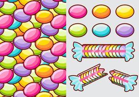 Smarties Süßigkeiten Vektor Elemente