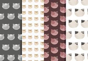 Vektor Katzen Muster