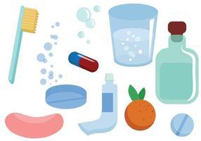 Gratis medicinska hygienvektorer vektor