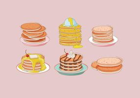 Pfannkuchen-Vektor