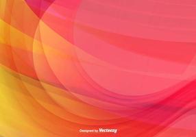 Farbe Abstrakt Welle Vektor Hintergrund