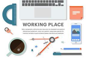 Free Flat Business Office Vektor-Elemente vektor