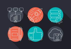 Kostenlose Vector Business Icons