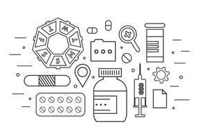 Medizin Icons in Vektor