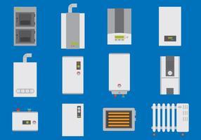 Varmvattenberedare vektor