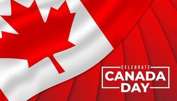 glücklicher Kanada-Tageshintergrund