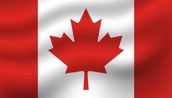 Kanada flagga bakgrund vektor