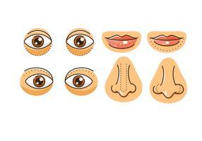Plastische Chirurgie Ikonen