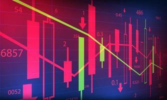 investeringsbakgrunden vektor