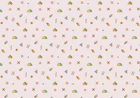 Umrissenes geometrisches Muster vektor