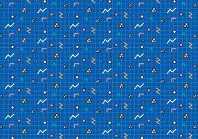 Utforma geometriska former mönster vektor
