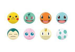 Freier Pokemon-Vektor