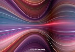Vektor abstrakt vågor
