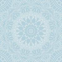 dekorativer Mandala Hintergrund vektor
