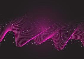 fließender Punkt abstrakter Hintergrund