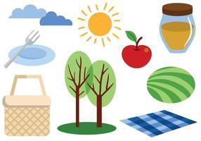 Freie Picknick-Vektoren
