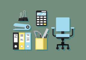 Vector Büro-Elemente