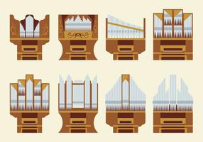 Free Pipe Orgel Vektor