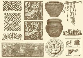 Forntida Peruanska Konst