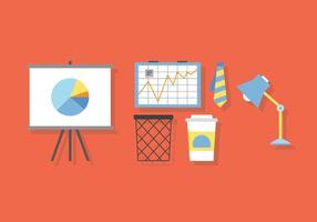 Vektor-Büro-Charts vektor