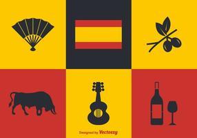 Kostenlose spanische Vektor-Icons