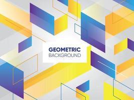 geometrisk bakgrundsmall vektor