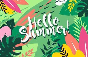 abstrakter Hintergrund für den Sommer