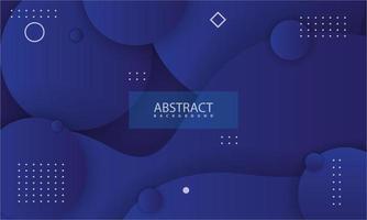 abstrakt bakgrund med mörkblå färg vektor