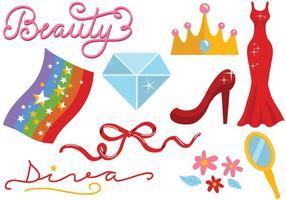 Free Beauty Pageant Vektoren