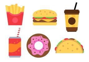 Kostenlose Fast Food Vektor