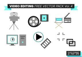 Videobearbeitung Free Vector Pack Vol. 4