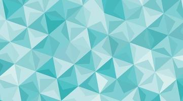 triangel grönblå mosaikmönster vektor