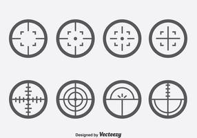 Laser-Tag-Vektor-Set vektor
