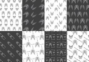 Ribcage mönstervektorer