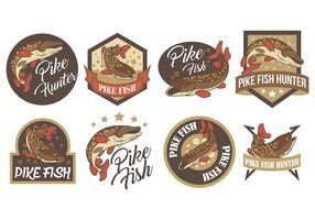Kostenlose Pike Icons Vektor