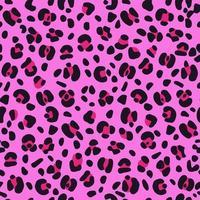 sömlös rosa leopard texturmönster. vektor