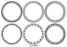 Nette Handgezeichnete Art-Rahmen