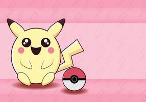 Pokemon rosa monster vektor