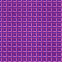 geometrischer Kreis und quadratisches rosa und violettes Muster vektor