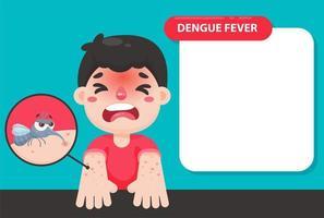 Dengue-Mpsquito-Vorlage vektor