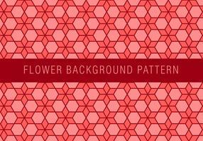 Blumen-Chainmail-Muster vektor