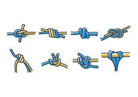 Klättringsvägg knut vektor