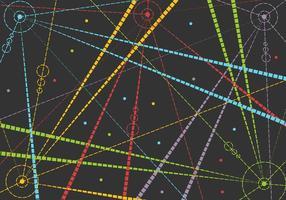 Freier Laser-Vektor vektor